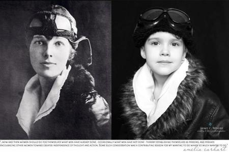 Ni princesas, ni barbies: retrata a su hija como grandes mujeres de la historia