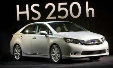 Lexus anuncia los precios para EE.UU de su nuevo híbrido, el HS 250h