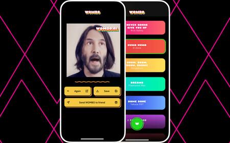 Wombo es una nueva app que triunfa en redes animando tus fotos y poniéndolas a cantar: así se usa