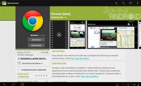 Chrome para Android se actualiza con soporte para Beam y muchos bugs solucionados