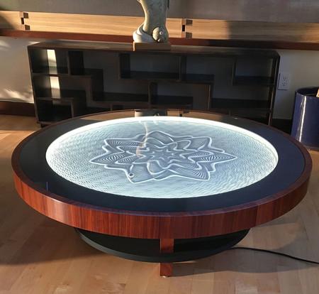 Te presentamos la mesa de café que cambia cada día la decoración de tu casa