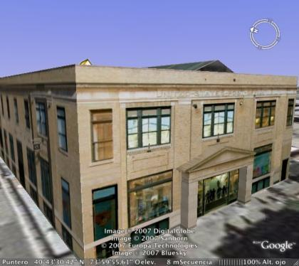 Apple Store Soho Google Earth 3D