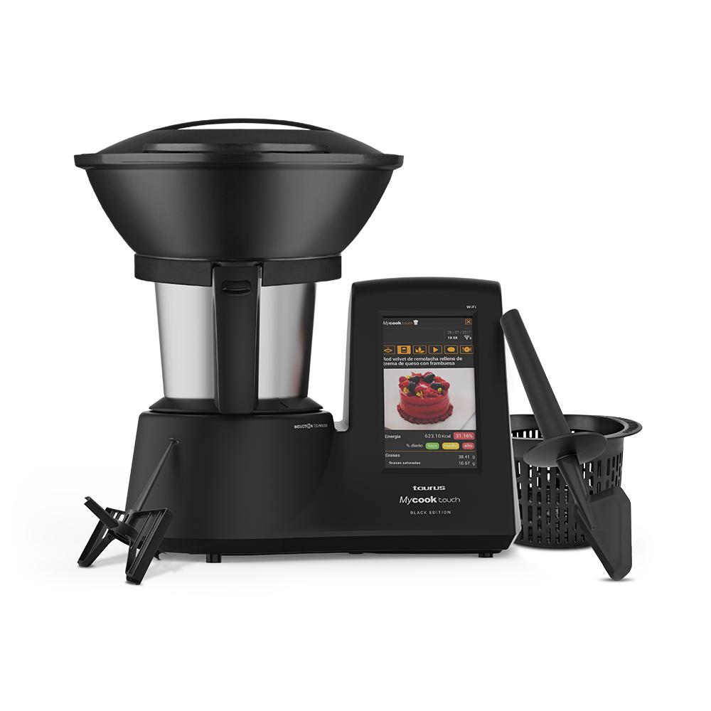 Robot de cocina Mycook Touch Black Edition de Taurus.  Promoción especial limitada a 25 unidades para seguidores de Directo al Paladar con nuestro código PALADARBLACK