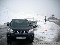 Así funciona el Nissan X-Trail sobre nieve