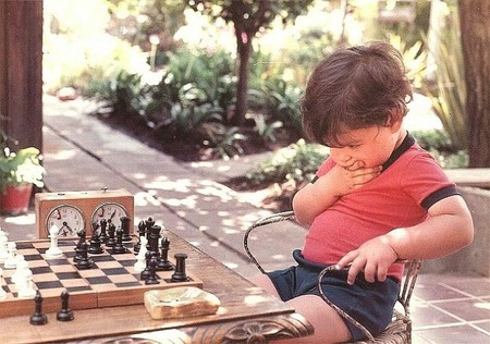 Los errores cometidos jugando al ajedrez se convierten en enseñanzas para los niños que lo practican