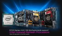 "ECS ya da soporte a Intel ""Haswell Refresh"" en motherboards 8-Series"