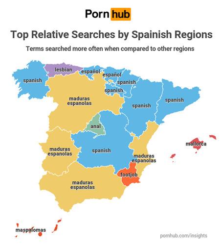 Mapa Porno Espana