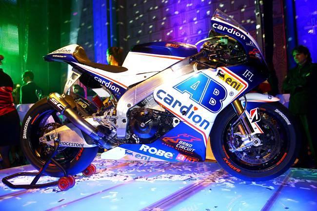 Presentación Cardion AB Racing