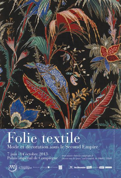 Locura textil en el palacete de Compiègne a 40 km de París