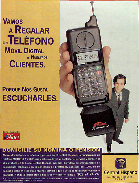 Anuncio Central Hispano Y Airtel
