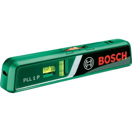 Nivelador de burbuja con láser PLL 1P de Bosch por 33,96 euros en Amazon. envío gratis