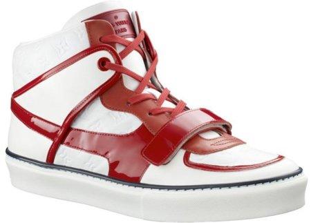 Zapatillas Louis Vuitton Tower en blanco y rojo