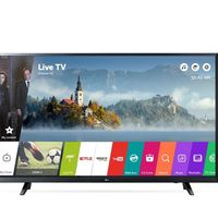 Super Weekend eBay especial Halloween: Smart TV LG de 43 pulgadas, con resolución 4K, por 389 euros