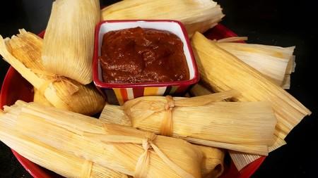 Tamales de camarón de Nayarit. Receta fácil de la cocina mexicana