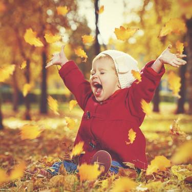 Siete ideas de sesiones de fotos para bebés, niños y familias con temática de otoño