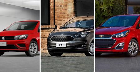 Volkswagen Gol vs. Ford Figo vs. Chevrolet Spark: Analizamos sus versiones base ¿Cuál ofrece más por menos?