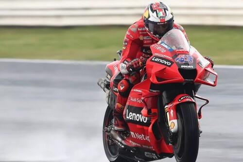 Jack Miller lidera el dominio de Ducati bajo la lluvia en Misano y Fabio Quartararo se reserva