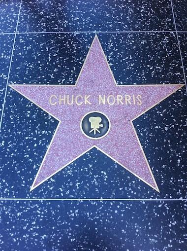 Chuck Norris, una foto necesaria