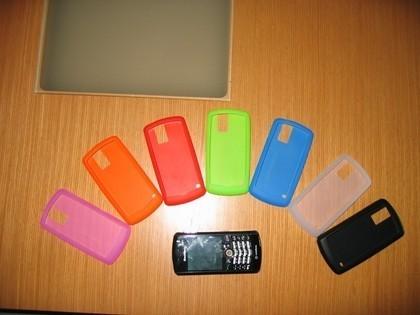 Fundas de silicona para la Blackberry Pearl