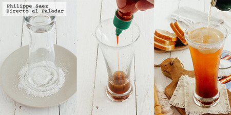 Srirachalada, michelada con sriracha. Receta fácil y refrescante