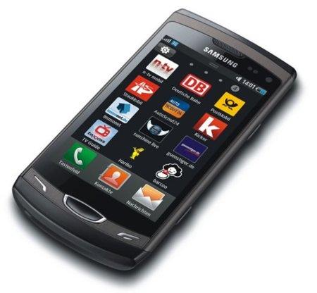 Samsung S8530 Wave II, con 3.7 pulgadas que no son SuperAMOLED