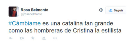 Cambiame Twitter Telecinco 5