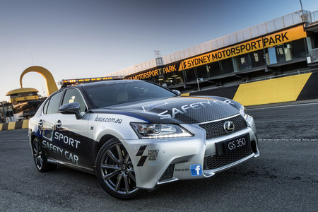 Safety car Lexus GS 350 F-Sport