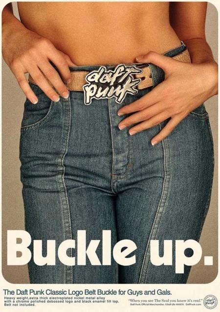 Daft Punk quieren que sigas teniendo suerte con su nuevo merchandising