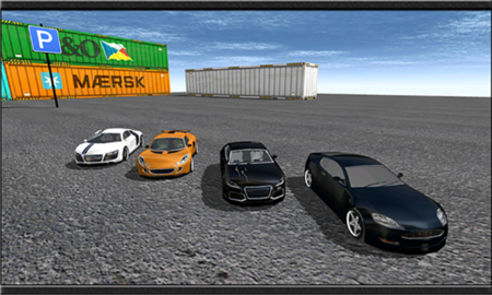 Luxury City Parking 3D1