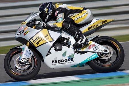 Thomas Luthi termina segundo en el GP de Jerez 2011