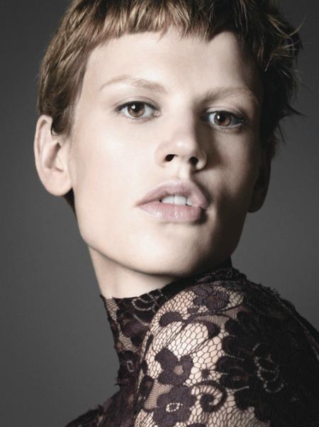 Catálogo Zara Invierno 2011/2012: Saskia de Brauw y más androginia