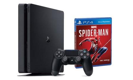 Con el cupón PARATECH en eBay, la PS4 de 500 GB con Spiderman, sólo te costará 280,20 euros