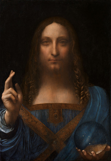 Leonardo Da Vinci Or Boltraffio Attrib Salvator Mundi Circa 1500