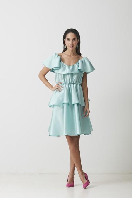Vestido Cecile Azul Coosy