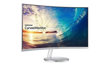 ¿Quieres un monitor de gran diagonal y pantalla curva para tu PC? En la Red Night de MediaMarkt tienes el Samsung C27F591FDU a 199 euros