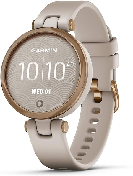 Garmin Lily Sport, Reloj Inteligente pequeño y Elegante - Beige Rose Gold