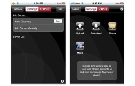 Iomega Link, conexión directa entre los NAS de la compañía y dispositivos IOS