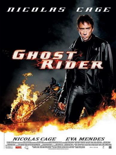 Otro póster más de 'Ghost Rider'