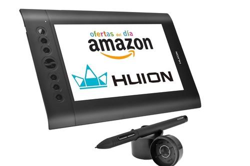 Hoy en Amazon tienes tres tabletas digitalizadoras de Huion rebajadas