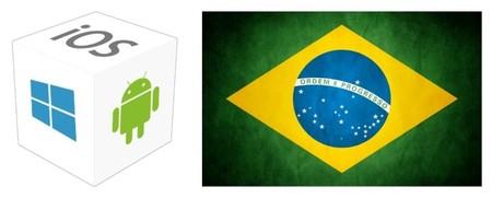 Windows Phone supera a iOS como segunda plataforma móvil en Brasil