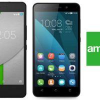 bq Aquaris A4.5 y Honor 4X llegan a Amena y estos son sus precios: libre y a plazos