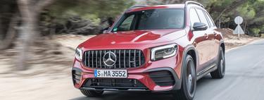 Mercedes-AMG GLB 35, a prueba: la metamorfosis de un todoterreno a un AMG genuino