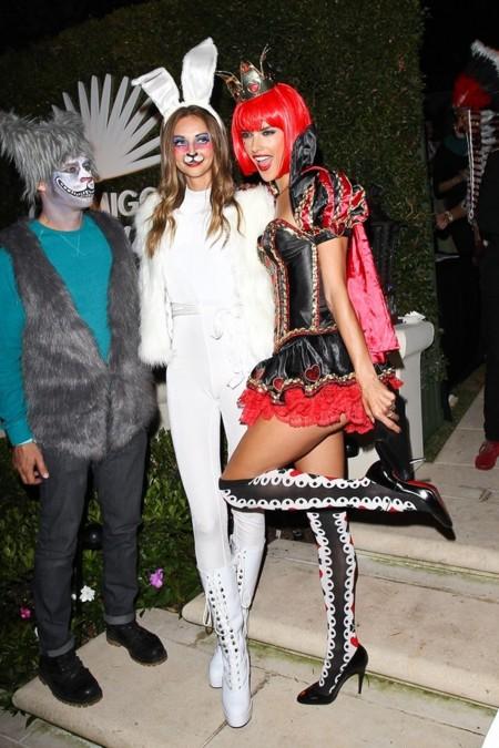 Las famosas, sin miedo al ridículo en la fiesta de Halloween de Beverly Hills