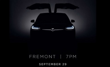Tesla prepara un evento en su fábrica de Fremont para el estreno del Tesla Model X, y de paso suma 14 kms a su autonomía