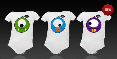 Oddzballz, ahora también camisetas para bebés