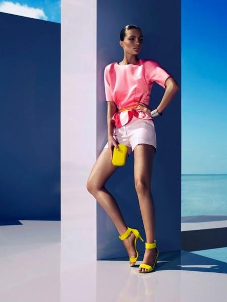 Un verano muy chic (y en clave flúor), by H&M