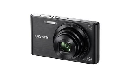 Regalar una cámara compacta no te puede salir más barato: Sony Cyber Shot DSC-W830 por 99 euros en Mediamarkt