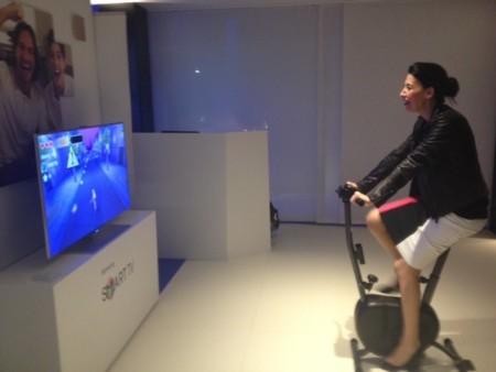 Bici y Smart TV