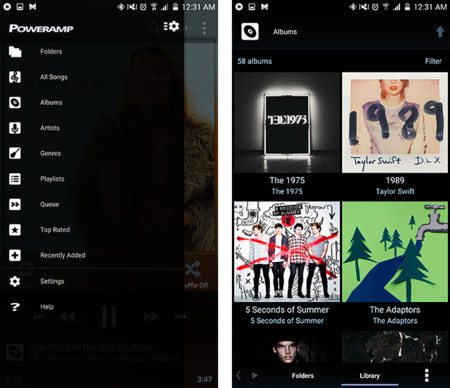 Poweramp empieza a renovarse para demostrar que sigue siendo un gran reproductor de música