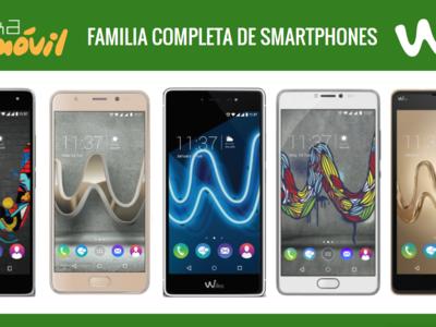 Así queda el catálogo completo de móviles Wiko